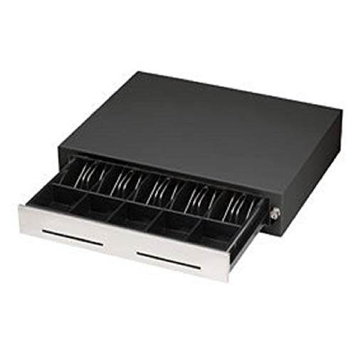 MMF Cash Drawer 226-113151312-04 Heritage 240 Steel 2 Slots Cash Drawer with 5 Bill and 5 Coin Compartments, 15.3
