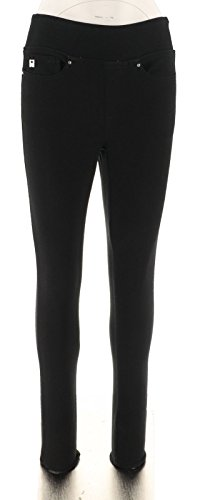 Belle Kim Gravel Flexibelle Jeggings Pockets-Petite Black 18WP New A300368 from Belle by Kim Gravel