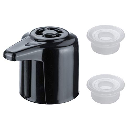 Steam Valve Knob - HENMI Steam Release Handle for Instant Pot Duo/Duo Plus Model 3,5,6,8Qt BPA-Free Steam Release Valve Pressure Cooker Replacement Part Accessories with 2 Additional Replacement Float Valve Gaskets