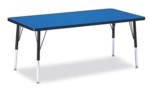 Berries 6408JCE183 Rectangle Activity Table, E-Height, 30