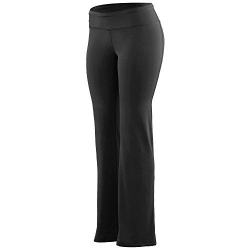 Augusta Sportswear Women's Wide Waist Brushed Back Poly/Spandex Pant S Black