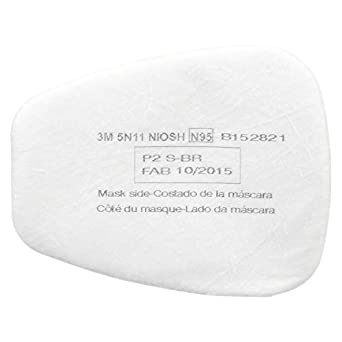 Protection pack Filter Particulate 10 5n11 3m Of N95 Respiratory