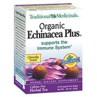 (Traditional Medicinals Organic Echnicea Plus, Wrapped Tea Bags, 0.85 Ounce)