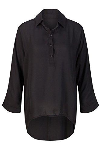 Beauty7 Blusa Mujer Dobladillo Irregular Camisa Larga Mangas Larga Camisetas Tops T Shirt Parte Superior Camisa Elegante Blusa Party Casual Ocasionales: ...
