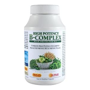 High Potency B-Complex 180 Capsules