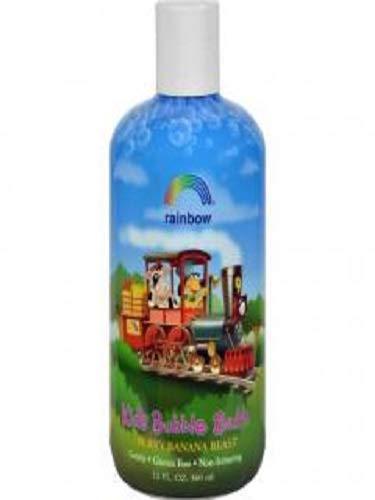 (Rainbow Research- Kids Organic Herbal Bubble Bath Berry Banana Blast (3-12 FZ))