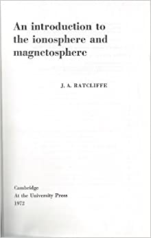 An Introduction To Ionosphere And Magnetosphere Download Pdf