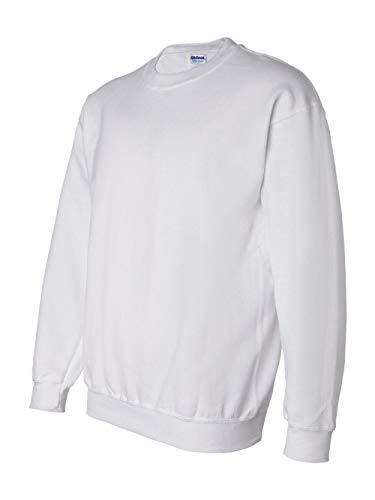 Gildan Dryblend Adult Crew Neck Sweatshirt, Wht, ()
