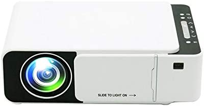 Opinión sobre Zhoutao T5 100ANSI lúmenes Resolución 800x400 480P LCD LED Smart Technology Proyector Soporte HDMI/SD / 2 x USB/Audio de 3,5 mm, Ordinario Versión
