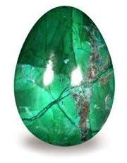 Malachite Howlite Crystal Egg ~48mm