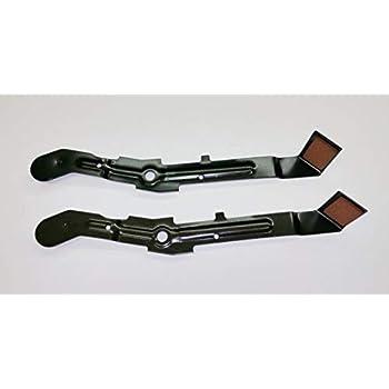 Set of 2, 184907 532184907 Brake Arm Assembly, also called Blade Brake  For  Craftsman, Poulan, Wizard, Husqvarna 42