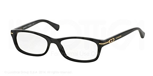 Coach Elise Eyeglasses HC6054 5002 Black 50 16 135