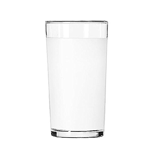 Libbey 53/11680 Frosted Clear Lip 10 Ounce Collins Glass - 48 / CS by Libbey