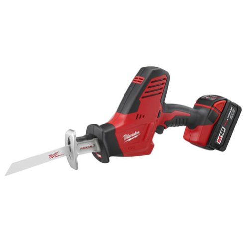 Milwaukee 2625-21 M18 18-Volt Hackzall Cordless One-Handed Reciprocating Saw (Cordless Recip Saw Kit)