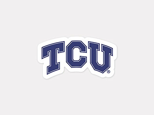 WinCraft NCAA Texas Christian University 92376013 Perfect Cut Color Decal, 4