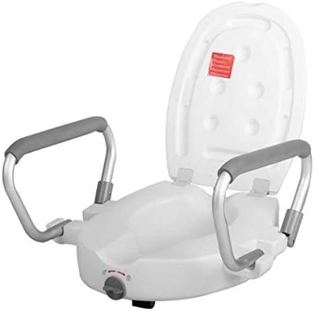 ハンディキャップと高齢者にハンドル-ための標準的な細長いトイレ・便座ライザーと隆起便座
