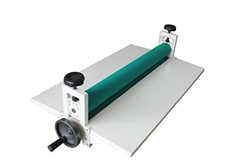 Manual Cold Roll Laminator 25'' Laminating Machine Lamination Foldable Long Wings (Cold Roll Laminator)
