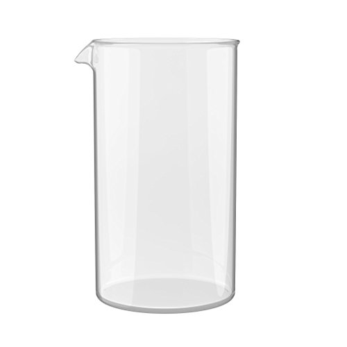 Glass Beaker Gaztaro 34 Ounces Glass Beaker Gaztaro 12 Ounces - Comes With Extra Spoon And Filters