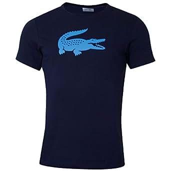Lacoste Sport Th3377, Camiseta Hombre, Azul (Marine/Pratensis 6wf), X-Small (Talla del Fabricante: 2)