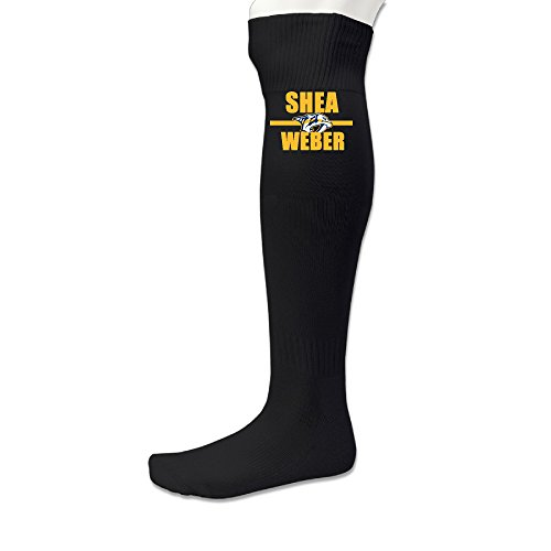 101Dog Casual Wear Shea Weber Hockey Player Soccer Socks Black