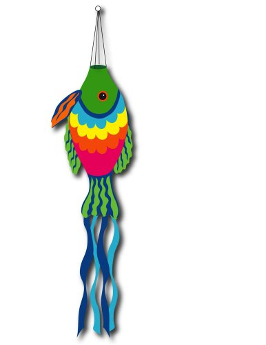 US Flag Store Rainbow Fish Sculpted -