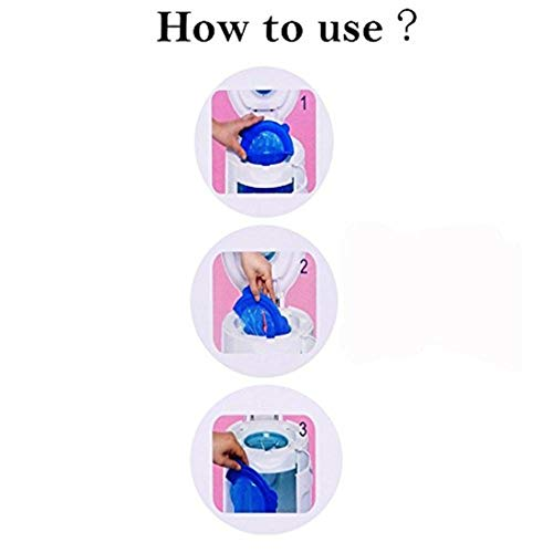 Diaper Pail Refill Bags (1020 Counts) Fully Compatible with Arm&Hammer Disposal System (One Item) by TESSES (Image #2)