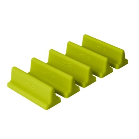 Review DrawerDecor - Customizable Drawer Organizer Long Divitz (5-Pack) - Lime By KMN Home by KMN Home