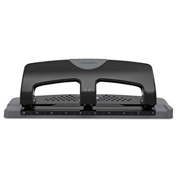 20-Sheet SmartTouch Three-Hole Punch, 9/32