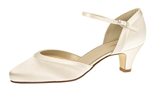 Hi Ivory Shoes Coloured Elsa Femme top Creme Slippers PFSWqwn