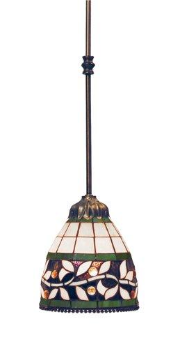 Landmark Pendants Landmark Lighting - Elk 716-Tb English Ivy 1-Light Pendant, 27-Inch, Tiffany Bronze