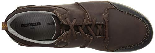 Shoda Sneaker Men's Stride CLARKS Brown Leather Ct5dqgwxw