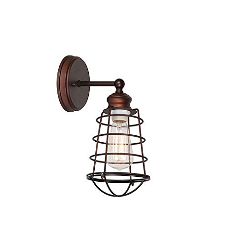 317l5mXAU1L - Design House 519710 Ajax 1-Light Bathroom Wall Sconce, Coffee Bronze Finish by Design House