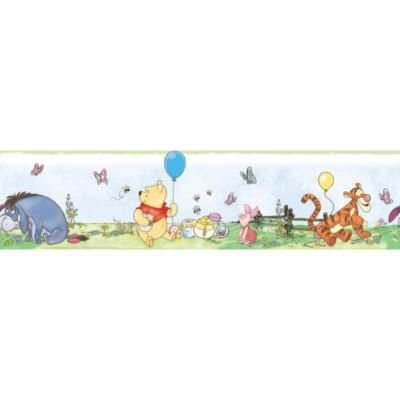 RoomMates Pooh & Friends Peel & Stick Wall Border (Pooh Border)