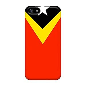 Hot East Timor Flag First Grade Phone Cases For Iphone 5/5s Cases Covers