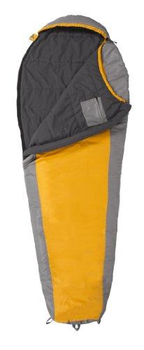 TETON Sports TrailHead +20°F Ultralight Sleeping Bag (2.9 Pound, 87-Inch x 32-Inch x 22-Inch, Orange/Grey), Outdoor Stuffs