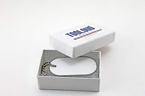 TooLoud It's the Little Moments that Make Life Big – Color Adult Dog Tag Chain Necklace