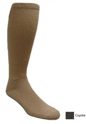 Covert Threads Rock Groundpounder Socks, Brown, Large