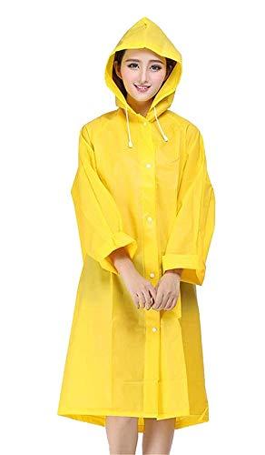 Capucha 5 Yendo Saoye Acampar Fashion Picnic 3 Adultos Multifuncional Colores Excursión Ropa Con Poncho Impermeable Gelb De w8wAIqOCx