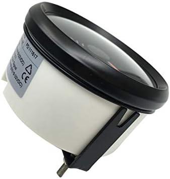 0-7000 RPM 85 mm con luz de fondo ELING tac/ómetro RPM tac/ómetro con medidor de horas para coche yate barco cami/ón