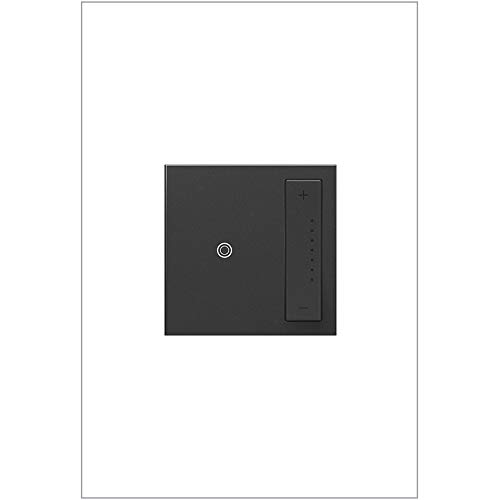 (Legrand Adorne ADTP703TUG4 sofTap Tru-Universal Dimmer, 700W (Incandescent, Halogen, MLV, Fluorescent, ELV, CFL, LED), Graphite )
