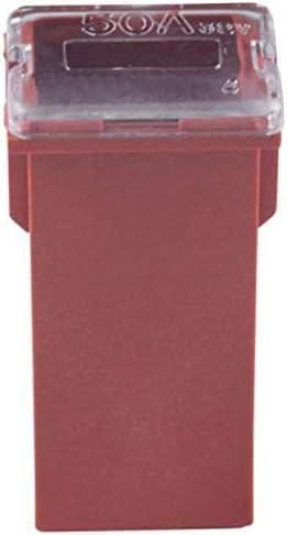 RETYLY Lot de 10 fusibles de Voiture FMX Femelle Maxi fusible Basse et Standard 20 A 30 A 40 A 50 A 60 A