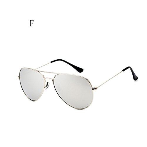 al F Moda De La Sol Aire Hombres Espejo FZG Polarizadas Conductor De Color De De La Gafas Sol de Libre del Gafas De C Rana Gafas Sol Los qwwpBUO