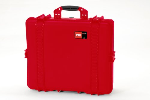 HPRC 2700F Hard Case with Cubed Foam (Red) by HPRC