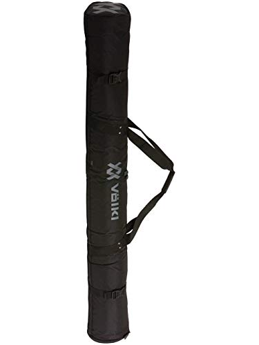 Volkl Single Expandable Ski Bag - Black 190cm (Best Volkl All Mountain Skis)