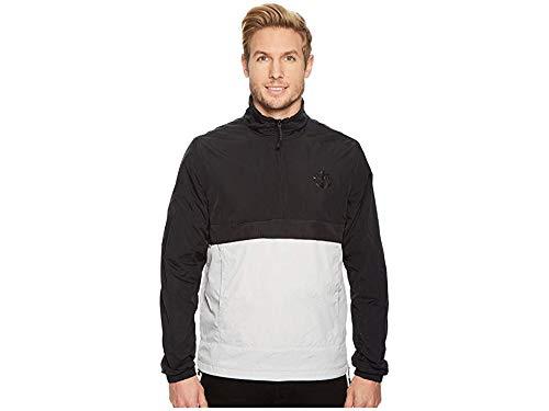 (Timberland Mens Mount Liberty Funnel Neck Lightweight Packable Jacket Black XL One Size)