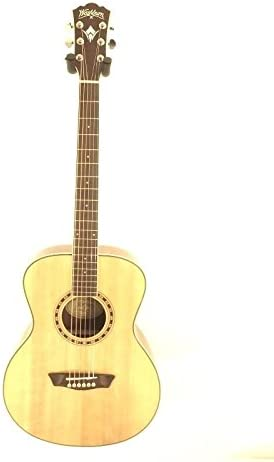 Washburn WF10S Folk tamaño parte superior sólida guitarra acústica ...