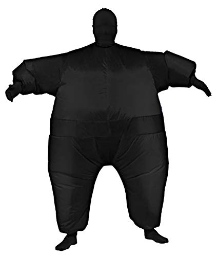 Rubie's Inflatable Full Body Suit Costume,  Black,