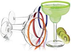 (Libbey Colors Margarita Glass Set, 4-Piece)