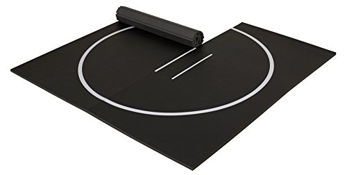 EZ Flex 10' x 10' Home Wrestling Mat (Black)
