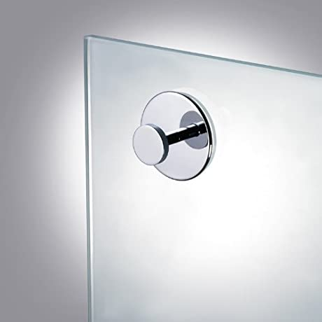Suction Pad Robe Or Towel Hook In Chrome Gold 85050